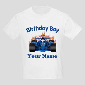 Birthday Boy Car Kids Light T Shirt