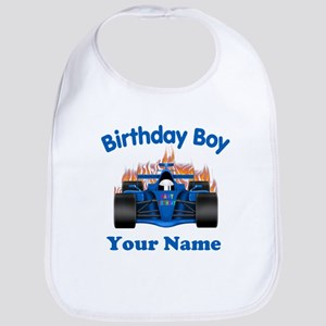 Birthday Boy Car Bib