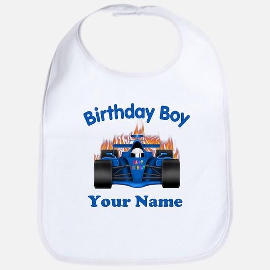 Birthday Boy Car Bib