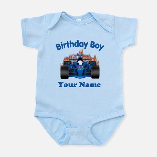 Birthday Boy Car Infant Bodysuit