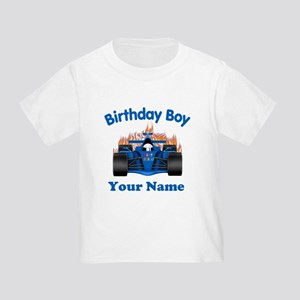 Birthday Boy Car Toddler T-Shirt