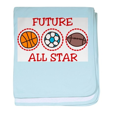 Future All Star baby blanket