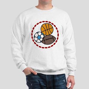 Sports Balls Sweatshirt