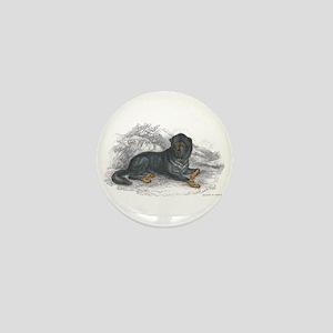 Mastiff Dog Mini Button