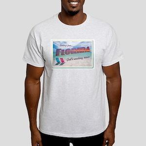 Florida - Ash Grey T-Shirt