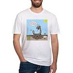 Rattlesnake Popularity Fitted T-Shirt
