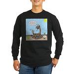 Rattlesnake Popularity Long Sleeve Dark T-Shirt