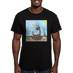 Rattlesnake Popularity Men's Fitted T-Shirt (dark)