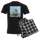Rattlesnake Popularity Men's Dark Pajamas