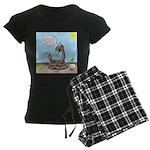 Rattlesnake Popularity Women's Dark Pajamas
