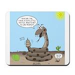 Rattlesnake Popularity Mousepad