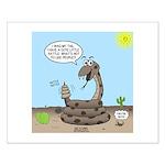 Rattlesnake Popularity Small Poster