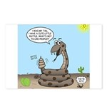 Rattlesnake Popularity Postcards (Package of 8)