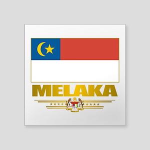 """Melaka (Flag 10)2 Square Sticker 3"""" x 3"""""""