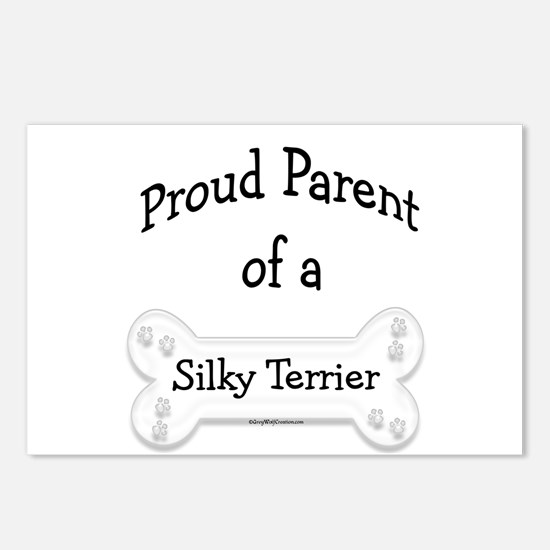 Proud Parent of a Silky Terrier Postcards (Package