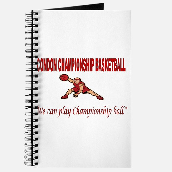 CONDON CHAMPIONSHIP BASKETBALL Journal
