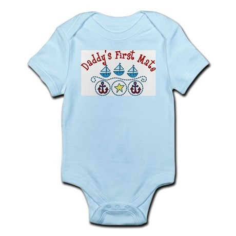 Daddys First Mate Infant Bodysuit
