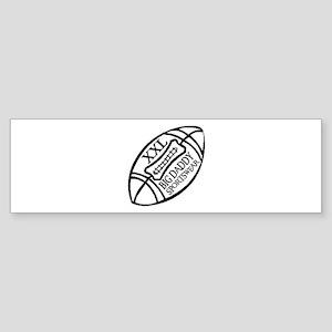 BIG DADDY XXL FOOTBALL Bumper Sticker