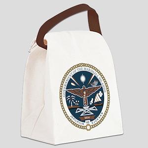 Marshall Islands COA Canvas Lunch Bag