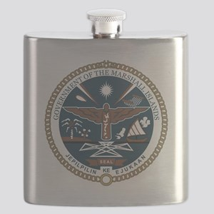 Marshall Islands COA Flask