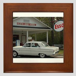 Esso Expresso Framed Tile