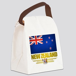 New Zealand (Flag 10) 2 Canvas Lunch Bag