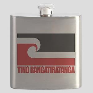 Maori Flag (Tino Rangatiratanga) Flask