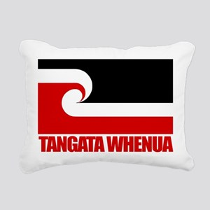 Maori Flag (Tangata Whenua) Rectangular Canvas