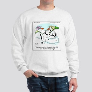 Dieting Snow Woman Sweatshirt
