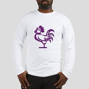 Big Purple......Rooster Long Sleeve T-Shirt