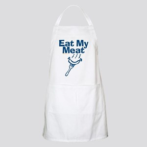 Eat My Meat BBQ Apron