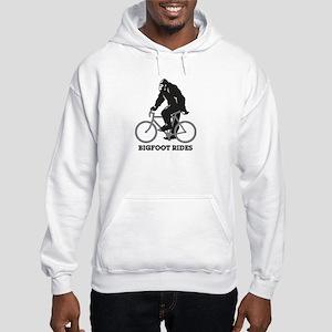 Bigfoot Rides Hooded Sweatshirt