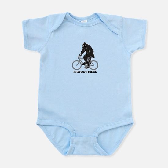 Bigfoot Rides Infant Bodysuit