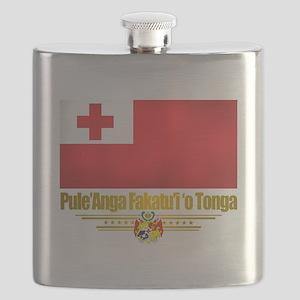 Tonga (Flag 10)2 Flask