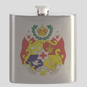 Tonga COA Flask