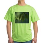Reflected Light from the River Green T-Shirt