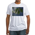 Reflected Light from the River Fitted T-Shirt