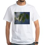 Reflected Light from the River White T-Shirt
