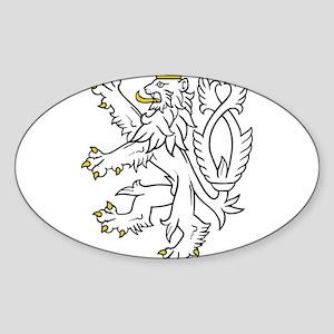 Bohemian Lion Sticker