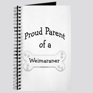 Proud Parent of a Weimaraner Journal