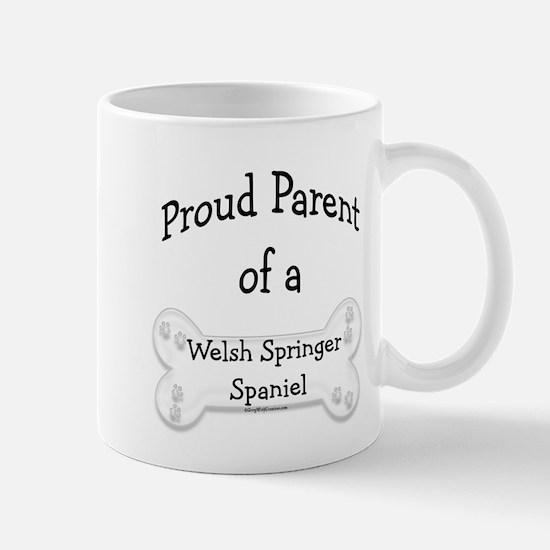 Proud Parent of a Welsh Springer Spaniel Mug