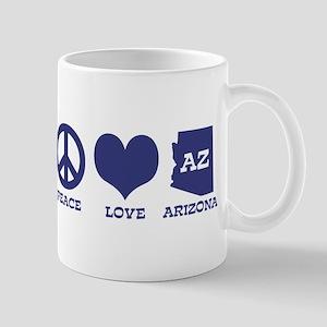 Peace Love Arizona Mug