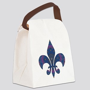 Alchemy Fleur De Lys Canvas Lunch Bag