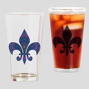 Alchemy Fleur De Lys Drinking Glass