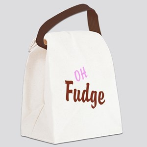 Oh Fudge Canvas Lunch Bag