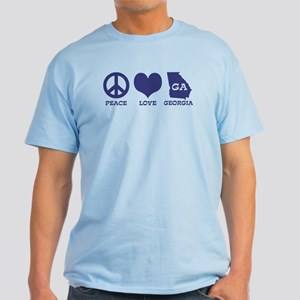 Peace Love Georgia Light T-Shirt