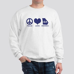 Peace Love Georgia Sweatshirt