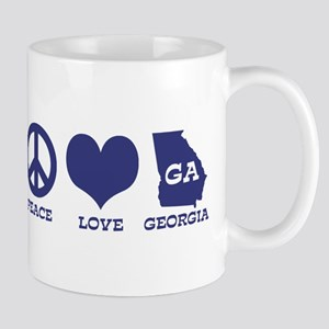 Peace Love Georgia Mug