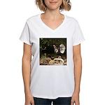 Wild Turkey Women's V-Neck T-Shirt