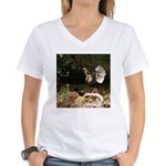 Wild Turkey Women's V-Neck T-Shirt